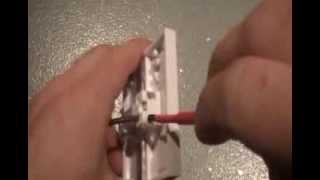 How to wire one way switch