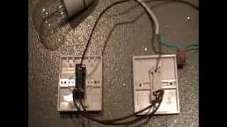 How to wire two way switch - Two way switching.