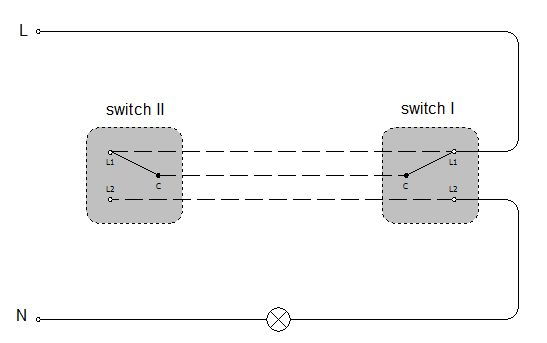 2 Way Wiring Diagram - Diagram No - 2 Way Wiring Diagram